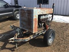 Ford 460 Propane Power Unit On Cart