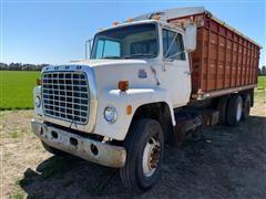 1981 Ford LN8000 Custom Cab T/A Grain Truck (INOPERABLE)