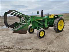 John Deere 3010 2WD Tractor W/Loader