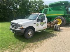 2003 Ford F350 Super Duty 4x4 Cab & Chassis