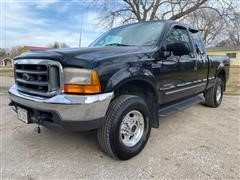 2000 Ford F250 Super Duty Lariat 4x4 Extended Cab Pickup