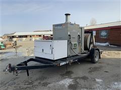 DryAir 2100-04000 Ground Heater On Trailer