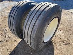 Firestone Destination Farm Steel Implement Rims W/Tractor Tires