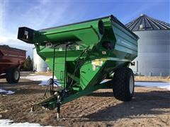 2009 J&M 875-18 Grain Cart