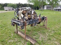 Caterpillar 3406 B Engine W/Transmission