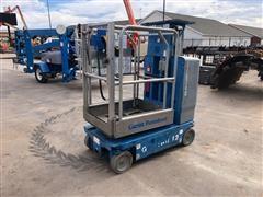 2013 Genie GR12 Vertical Mast Lift