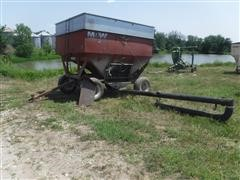 M&W Little Red Wagon Gravity Wagon W/ Seed Auger