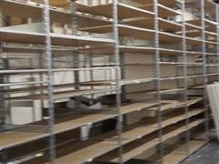 Adjustable Free Standing Inventory Shelving
