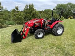 2010 McCormick CT50U MFWD Compact Utility Tractor & L116 Loader