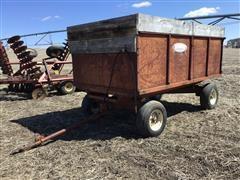 Stan-Hoist Steel Wagon