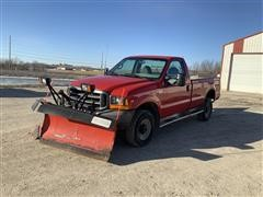 1999 Ford F350XL 4x4 Pickup W/Snow Plow