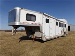 2002 Kiefer Genesis X-480 T/A Gooseneck Horse Trailer