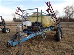 Blumhardt 51489 1000 Gallon 60' Pull-type Sprayer