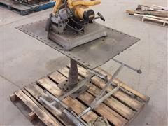 """DEWALT D28715 14"""" Cut-Off Saw & Table"""