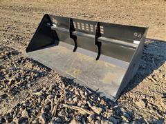 """2021 Industrias America S94 94"""" Wide Snow Bucket Skid Steer Attachment"""