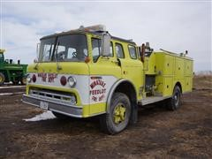 1977 Ford F750 S/A Fire Engine