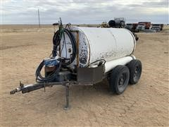 Shop Made T/A Fuel Trailer