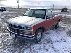 1988 Chevrolet 1500 2WD Pickup