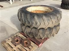 "Farmland 18.4-38 Tires On 16"" Rims"