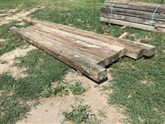Wooden Posts/Beams