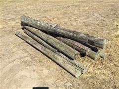 8' Wood Posts