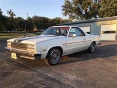 1982 Chevrolet El Camino SS 2 Door Pickup