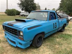 1983 Dodge D-150 Short Bed Pickup