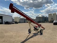 Buhler Farm King Gas Driven Portable Auger