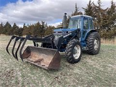 Ford TW-15 MFWD Tractor W/Woods DuAl 3100 Loader