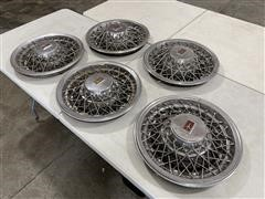 Oldsmobile Wire Wheeled Hubcaps