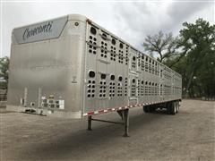 2000 Wilson Stockmaster PSAL-301 53' T/A Livestock Trailer