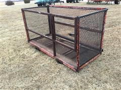 Homemade Forklift Cage