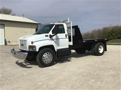 2005 GMC C6500 S/A Flatbed Truck