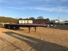 2006 Great Dane Split Axle Flatbed Trailer