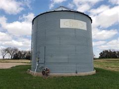 York 7,500 Bushel Grain Bin