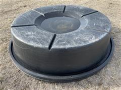Round Poly Liquid Feed Tank