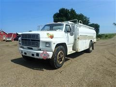 1984 Ford F7000 S/A Fuel Truck