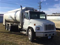 2001 Freightliner FL80 T/A Fuel Truck W/4500-Gal Tank & Pumps