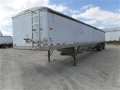 1995 Timpte Super Hopper 46' T/A Hopper Grain Trailer