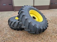 Firestone Super-All Traction 24.5-32 Tires/Rims