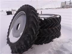 Trelleborg 380/90R46 Tires On Sprayer Rims