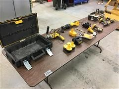 """DEWALT 18V Cordless Tools & 1/2"""" Drill"""