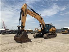 2017 Hyundai HX480L Hydraulic Excavator