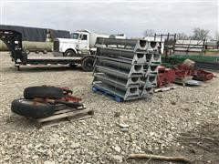 Hutchinson Mayrath Belt-Driven Conveyor (Disassembled)