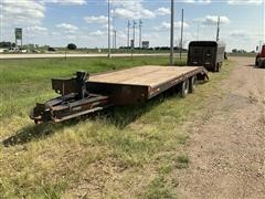 1981 Homemade T/A Flatbed Trailer
