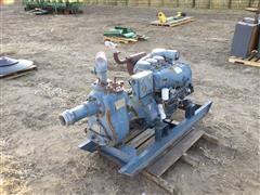 Gorman-Rupp Series 10 Skid Mounted Water Pump W/Diesel Power Unit (INOPERABLE)
