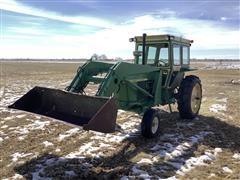 John Deere 4010 2WD Tractor W/Loader
