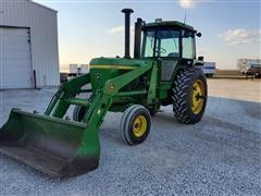John Deere 4430 2WD Tractor W/735 Loader
