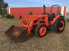 2016 Kubota M7060 MFWD Tractor W/Kubota LA1154 Loader