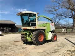 2000 CLAAS Jaguar 860 Self-Propelled Forage Harvester